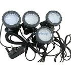 3/4x 36-LED Multicolor Submersible Fish Tank Garden Pond Fountain Spot Light