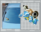 BLASTOISE POKEMON Cartoon Vinyl Decal #3 PICK A SIZE! Car Laptop Sticker
