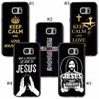 Christian God Keep Calm And Love Lord Jesus Christ Quote holy for samsung case