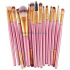 15Pcs Eyeshadow Makup Brushes Tool Eye Eyeliner Foundation Powder Brush Kit Set