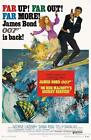 ON HER MAJESTY'S SECRET SERVICE BOND VINTAGE MOVIE POSTER A4 A3 ART PRINT CINEMA £20.05 GBP on eBay