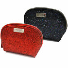 Victoria's Secret Makeup Bag Cosmetic Travel Case Toiletries Glitter Vs New