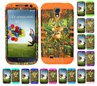 KoolKase Hybrid Silicone Cover Case for Samsung Galaxy S4 i9500 Camo Mossy Deer