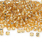 200 Matsuno 6/0 Glass Seed Beads Silver Lined Spacer Beads Nice Quality