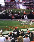 CLEVELAND BROWNS vs. NEW ENGLAND PATRIOTS ROW 3 DAWG PD