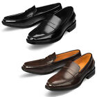 Mooda Mens Leather Loafer Shoes Casual Formal Lace up Dress Shoes Vella CA