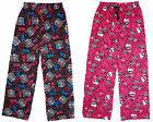 Girls Monster High Cotton Pyjamas Bottoms Style Lounge Pants 7 to 13 Years