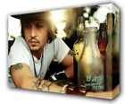 JOHNNY DEPP - GICLEE CANVAS ART