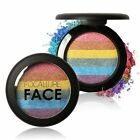 Fashion Rainbow Color MContour Shading Powder akeup Face Highlight Bronzer HOT