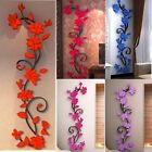 3D Flower Removable Vinyl Quote Wall Sticker Decal Mural DIY Home&Room Decor Art