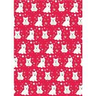West highland terrier Christmas wrapping paper,westies gift wrap,westie giftwrap