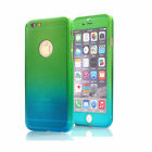 For iPhone 7 6 6s Plus 360 Full Hybrid Tempered Glass+Acrylic Hard Case Cover US