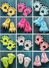 Adult Cartoon Animal Cosplay Costume Slippers Dinosaur Claw Paw Shoe indoor New