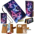 Flip Wallet Card Stand Leather Case Cover For Samsung Galaxy Note 1/2/3/4/5/7