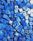 Lapis Lazuli Rich Natural Blue Gemstone Loose Cube Beads Drilled 4 MM (20)