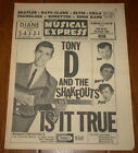 NME 21 FEB 1964 TONY D SHAKEOUTS BEATLES CILLA CAC DAVE CLARK RONETTES CRYSTALS