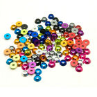 10PCS Alloy Aluminium  M3 3mm Countersunk Washer Concave Washers Multi color