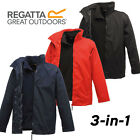 Regatta 3 in 1 Classic Jacket  Mens Waterproof Windproof Hydrafort 5000 Superb