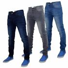 New Mens Crosshatch Kinney Fit Stretchable Denim Five Pocket Western Jeans