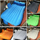 Car Air Mattress Travel Bed Flocking Inflatable Car Bed For Camping Travel