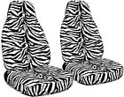 Fits 2009 to 2017 Toyota Corolla Zebra Seat Covers Airbag Friendly