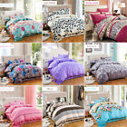 All Size Duvet Cover with Pillow Case Quilt Cover Bedding Set Single Double