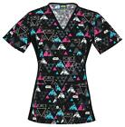 Star Wars Women's Scrub Top $41.99 USD on eBay