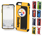 Official NFL Dual Layer Shock Proof TPU Cover Case for Apple iPhone 6 6S 7 Plus $18.99 USD on eBay