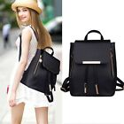 New Backpack Travel PU Leather Handbag Rucksack Shoulder School Bag Womens girls