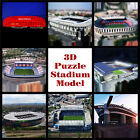 Free Shipping 3D puzzle satdium model Crafts FC club paper souvenir toys gift
