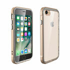 For Apple iPhone 7 [Rugged] Shockproof Slim Crystal Clear Cover Protective Case