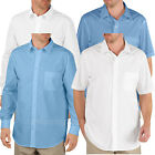 Dickies work Shirts Mens Executive Dress Shirt Long Sleeve or Short Sleeve
