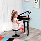 37/32 Key Kids Electronic Keyboard Mini Grand Piano Stool Microphone Musical Toy <br/> 20%offwithcodePRIZE20.Minspend£25.Maxoff£75