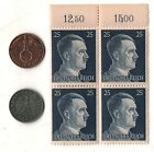 Rare Very Old Antique Vintage WWII Nazi Germany Coin Stamp Collectible War Lot