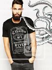 Cthulhu Fhtagn old n°1 R'lyeh Lovecraft, maglia 100% cotone