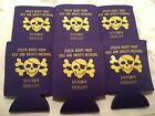 stolen booty pirate Wedding Koozies 1525 25 to 300 custom can party favors