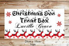 Personalised CHRISTMAS EVE BOX SIGN Plaque Gift Present Daughter Son Xmas