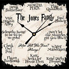 Personalised Harry Potter Quote Working Clock Christmas Birthday Gift Present