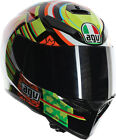 AGV Adult Motorcycle K3 SV Full Face Elements 46 Rossi Helmet Size S-2XL