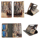 """Tablet  8"""" Android  Case 8 inch Folio Stand Leather Rotate Pocket Cover"""