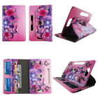 """Universal 8"""" Android Tablet Case 8 inch Folio Stand Leather Rotate Pocket Cover"""