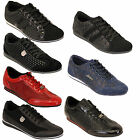 Mens Trainers Sneakers Lace Up Shoes Patent Suede Look Crocodile Skin Tamboga