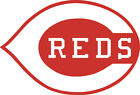 "2 Cincinnati Reds MLB Corn Hole 16"" x 11"" Vinyl Decals set Multiple colors ""USA"""