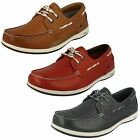 Mens Clarks Boat Style Lace Up Leather Shoes - Orson Harbour