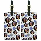 Luggage Suitcase Carry-On ID Tags Set of 2 Art Paintings