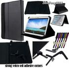 "Folio Leather Case Flip Cover For Samsung Galaxy Tab 7.0"" 8.0"" tablet + STYLUS"