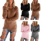 Fashion Women Long Sleeve Warm Soft Sweater Sweatshirt Jumper Pullover Blouse