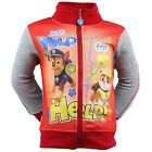 PAW PATROL LONG SLEEVE ZIP FRONT BOYS JUST YELP FOR HELP CHASE RUBBLE JACKET