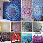 BOHO Indian Twin Bohemian Tapestries Wall Hanging Mandala Throw Hippie Bedspread