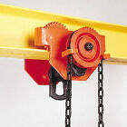 Geared Girder Trolley: 500kg, 1T, 2T or 3T